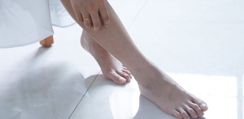 picioarele umflate dimineața Tratamentul articulației Matseste