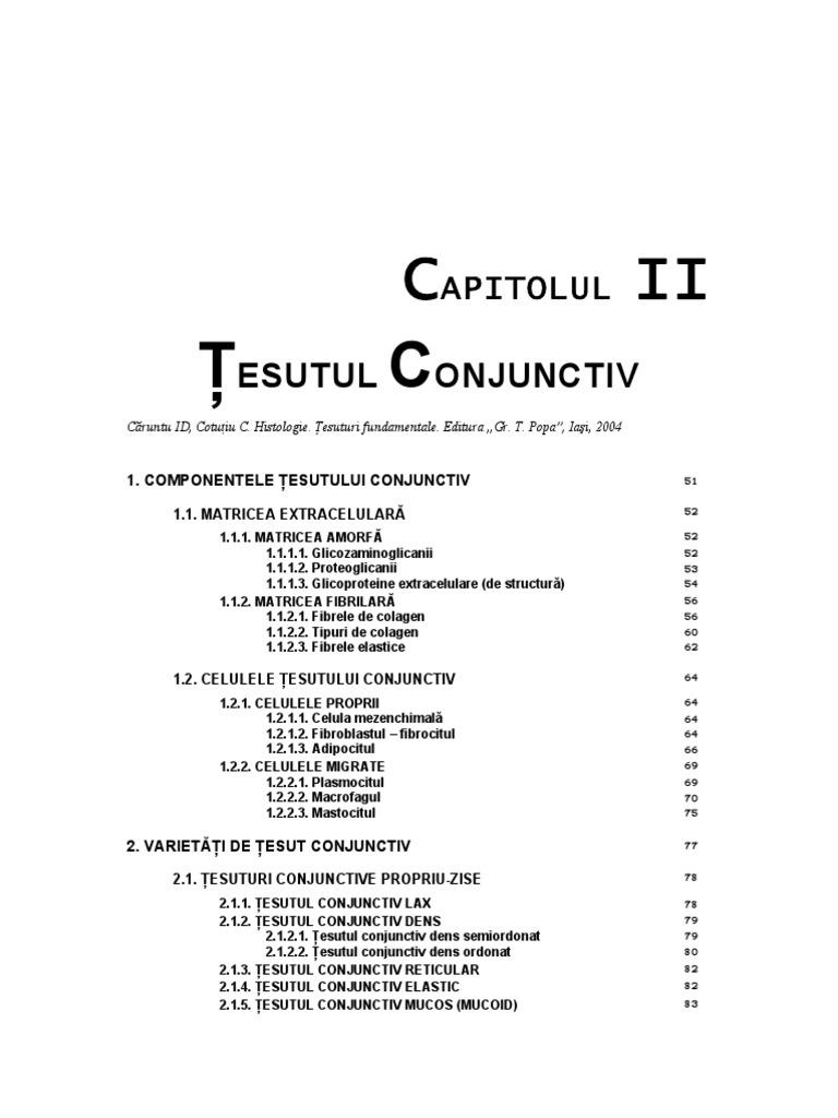 preparate de histologie țesut conjunctiv