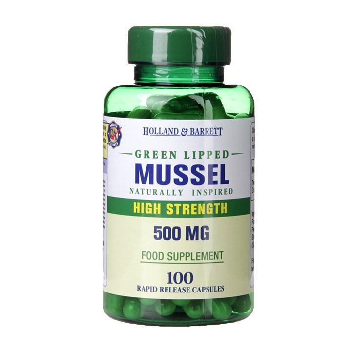 Capsule cu pulbere de scoica verde mg, 30 capsule, Herba : Farmacia Tei