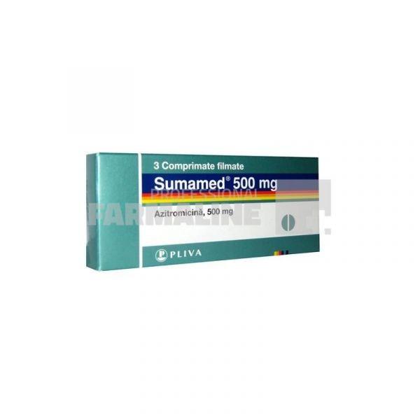 Azitromicina 500 mg -cpr x 3 - Sandoz (Lek*