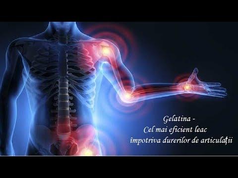 tratament cu artroză gelatină