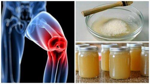 tratamentul durerii articulare cu gelatină