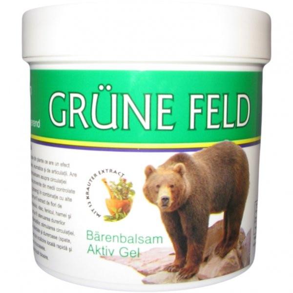 Gel antireumatic Puterea Ursului cu plante Bio Krauter, ml (Articulatii) - graficata.ro